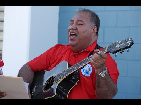 Nauru President H.E. Baron Waqa Performs a Song for NZ Prime Minister Jacinda Ardern