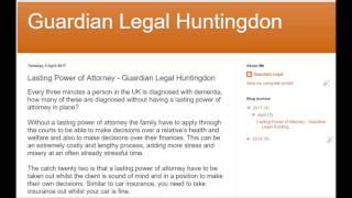 Guardian Legal Huntingdon - Lasting Power of Attorney