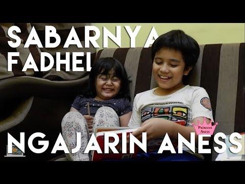 Kids Brother - Sabarnya Fadhel Muhammad Reyhan Ngajarin Aness Belajar