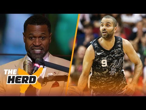 Stephen Jackson talks losing respect for Tony Parker, LeBron and Kryie's health | THE HERD