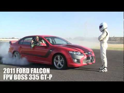 Ken Block and the Stig hooning at Top Gear Magazine Australia cover shoot [HD]