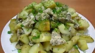 Картошка с куриным филе в рукаве I Вкусный и быстрый MICRO рецепт 4