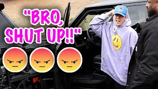 Justin Bieber Lays The SMACK DOWN On A Friendly Pap