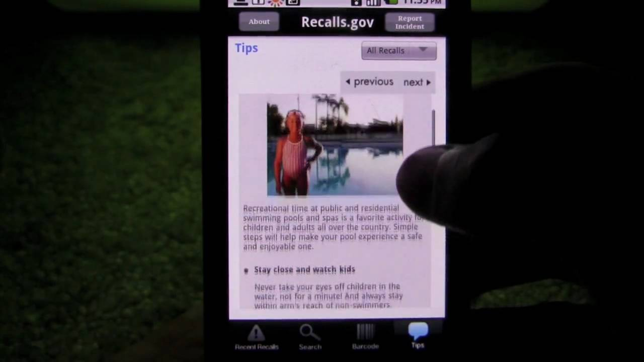 Recalls gov Android App Review - AndroidApps com