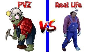Plants Vs Zombies Every Zombies PVZ 2 in Real Life Video Primal