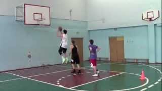 Баскетбол. Упражнения на ловкость.