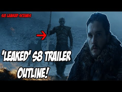 LEAKED S8 Trailer Outline! Game Of Thrones Season 8 (Leaked Scenes)