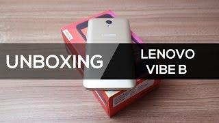 Lenovo Vibe B | Unboxing Brasil