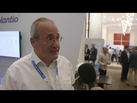 Christophe Bousquet, Amadeus' SVP of Airlines R&D, at AES 2019