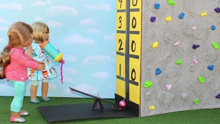 DIY American Girl Doll Carnival Game Test Your Strength