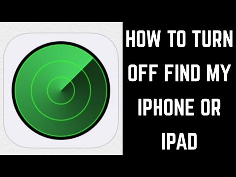How to Turn Off Find My iPhone or iPad