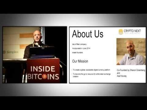 Bitcoin TLV `14, #11 - Sharon Greenberg - Connecting Crypto Economy to Nowadays Economy