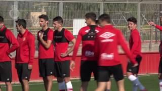 Entreno del Real Mallorca 17/02/2017