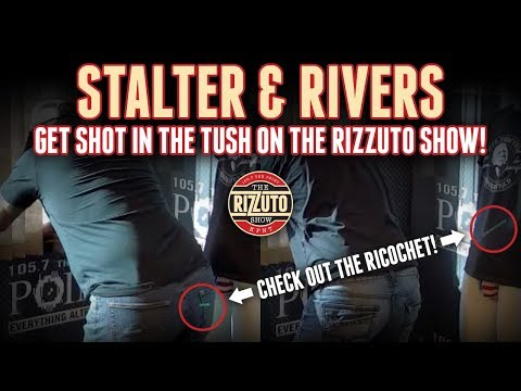 Jamie Rivers & Anthony Stalter get TUSH SHOTS [Rizzuto Show]