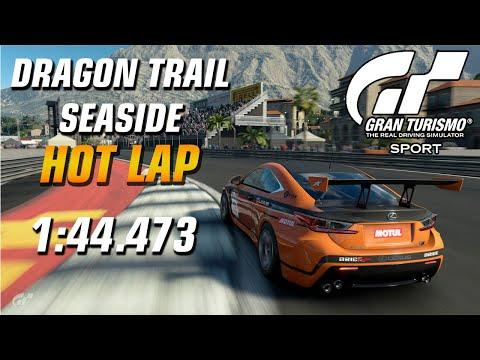GT Sport Hot Lap // Daily Race B (13.01.20) Gr.4 // Dragon Trail Seaside