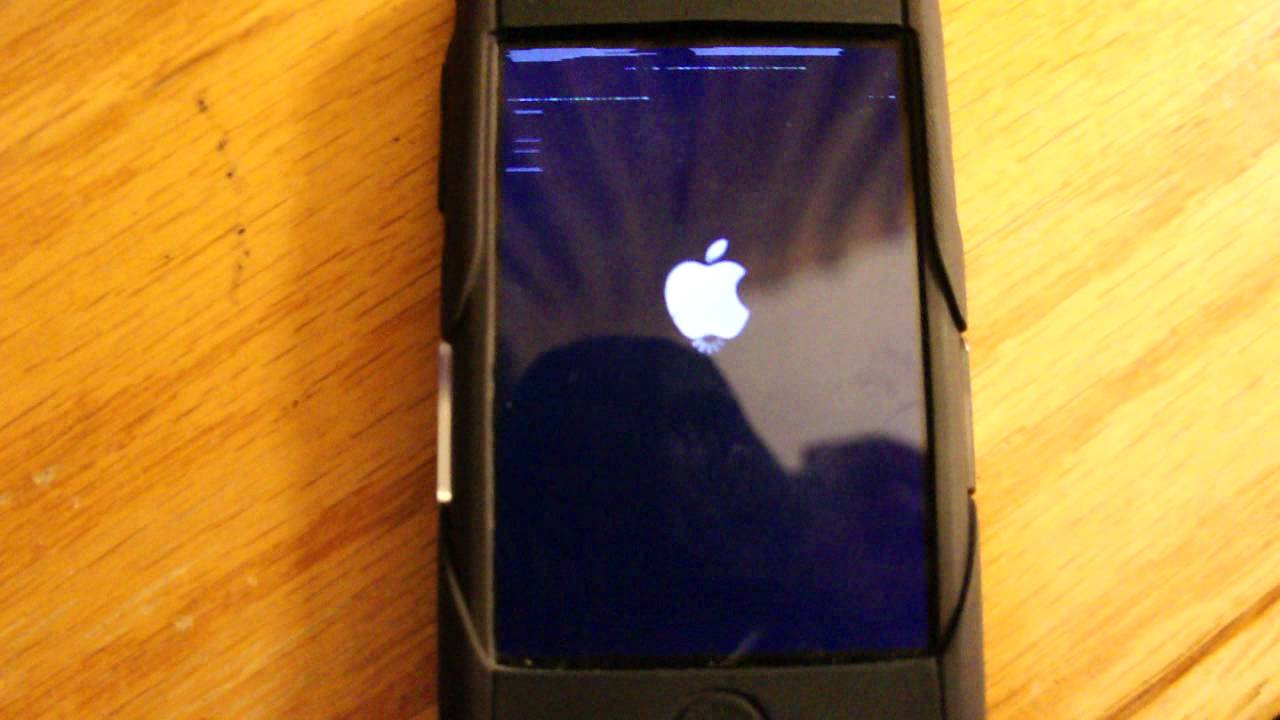 how to restart an iphone how to reboot an iphone 2g 3804
