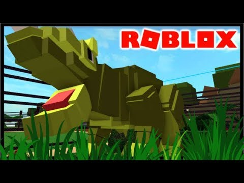 BUILDING A DINO PARK IN ROBLOX!! | Roblox Dino Park Tycoon