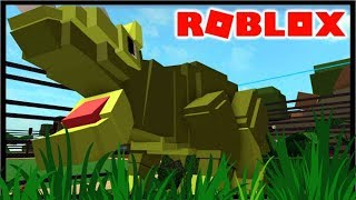 BUILDING A DINO PARK IN ROBLOX!!   Roblox Dino Park Tycoon
