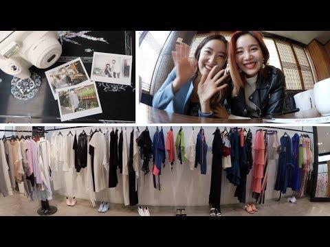Outfits for Fashion Week & Ikseon Hanok Village