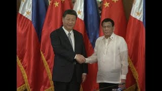 China, Philippines Upgrade Relations, Sign MOU on Belt and Road Construction
