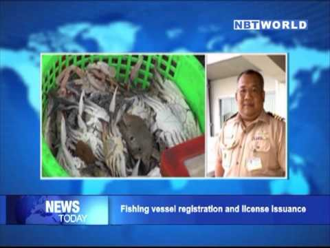 Fishing vessel registration and license issuance