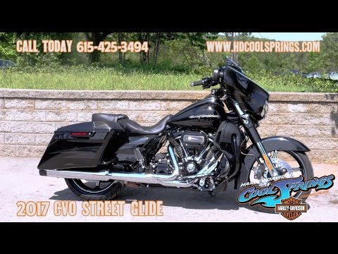 Difference Between Street Glide And Road Glide >> 2017 CVO Street Glide (FLHXSE) First Ride & Review │Harley ...