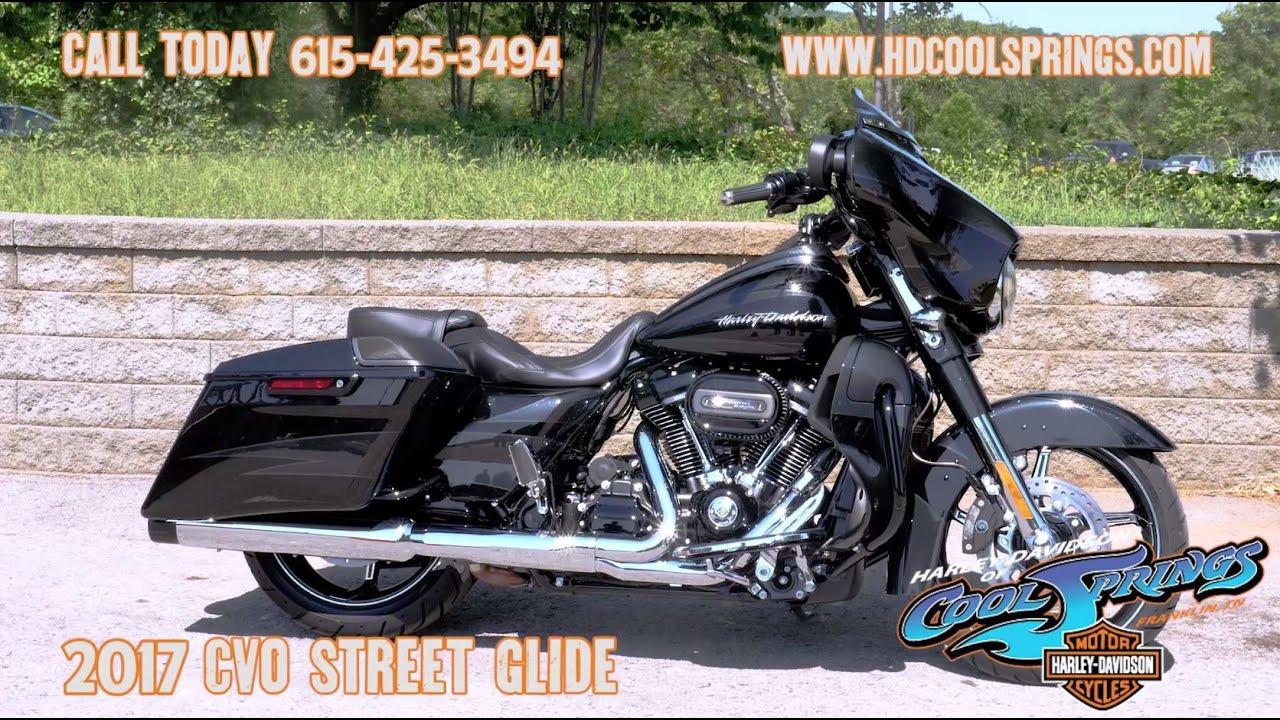 2017 Harley-Davidson CVO Street Glide - YouTube
