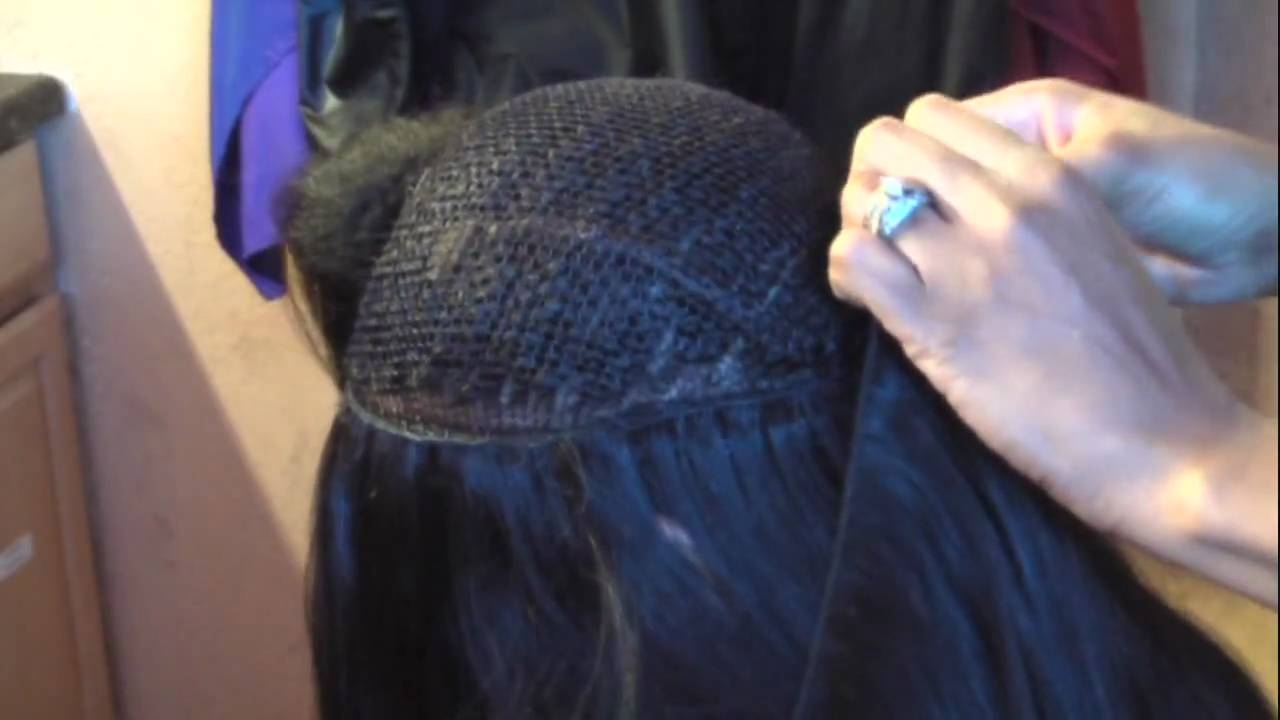 How To Install Virgin Indian Remy Hair Extensions On A Hand Tied