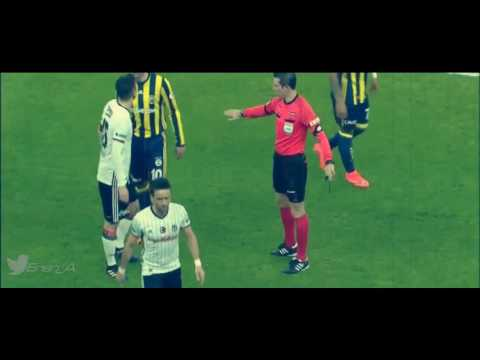 Robin Van Persie Turkish Derby Fantastic Goal and Fight