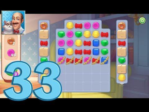 Как пройти 33 уровень в игре homescapes