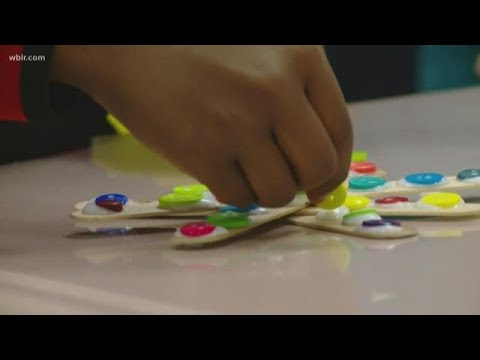 Local students create ornaments for Fantasy of Tree's Adopt-a-Tree forest