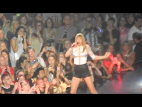Holy Ground Live Taylor Swift Red Tour St Paul 2013 Youtube