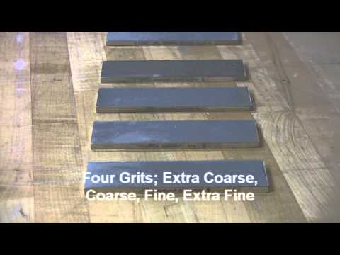 Video of 6-inch DiaSharp® Bench Stones
