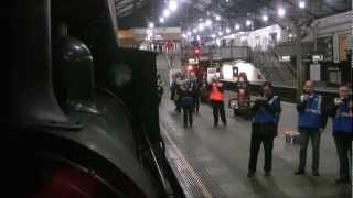 Heritage Railway: Steam returns to the Underground (Steam Train on The Tube, London)