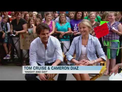 Tom and Cameron on