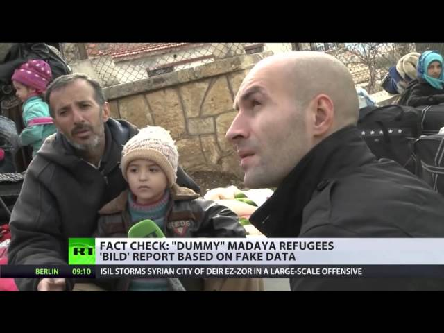 German tabloid Bild attacks starving Madaya refugees as 'actors' in RT report