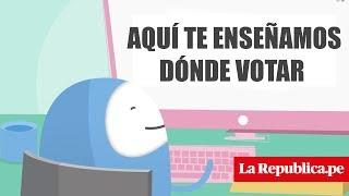 Averigua Dónde Te Toca Votar Y Ubica Tu Mesa De Sufragio En Estas Elecciones 2018 Perú