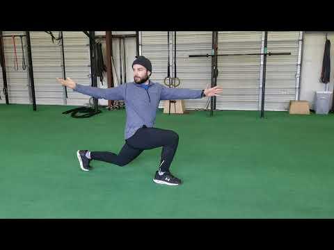 How to | Forward Lunge w/twist