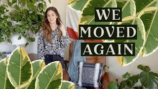 We Moved Again! New House Tour (Thrifted & Vintage Home Decor) Alli Cherry