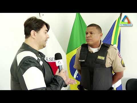 (JC 21/06/18) Polícia Militar promove passeio ciclístico na Semana Nacional Antidrogas
