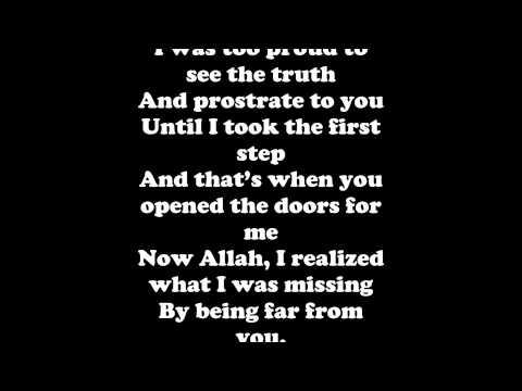 Maher Zain - Thank you Allah  Lyrics