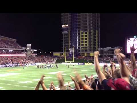 RedBlacks Brett Maher Winning Field Goal