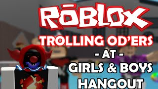 TROLLING OD'ERS on ROBLOX || Part 1