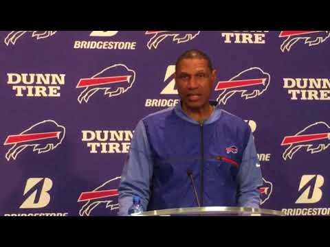 Buffalo Bills Week 13: vs. New England Patriots - Leslie Frazier (11/27/17)