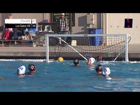 Los Gatos High School Vs Clovis - Varsity Waterpolo (Player's View)