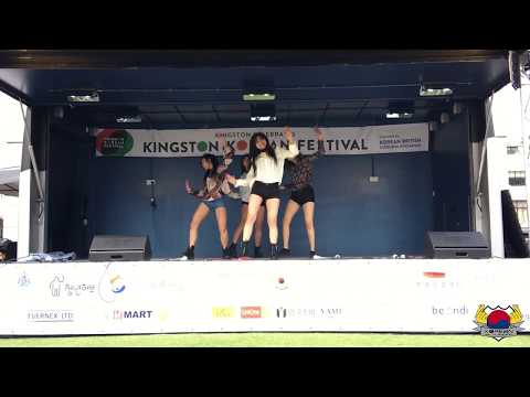 Kingston Korean Festival KCL Korean Hallyu Society dance performance