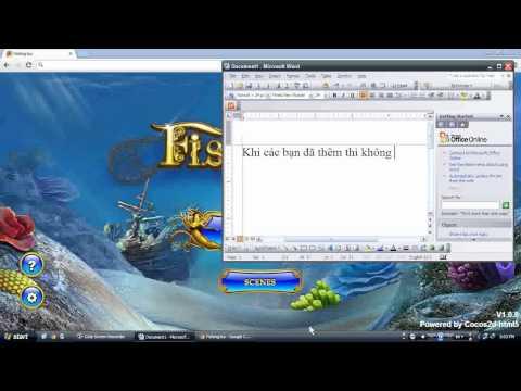 cách chơi Fishing Joy iSO không cần phần mềm hỗ trợ