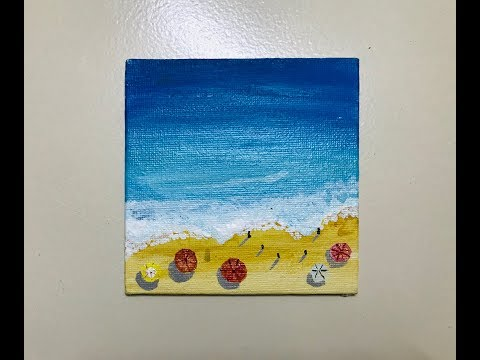 acrylic-painting-tutorial-for-beginners- -easy- acrylic-painting-made-easy- -poonam-art-stories