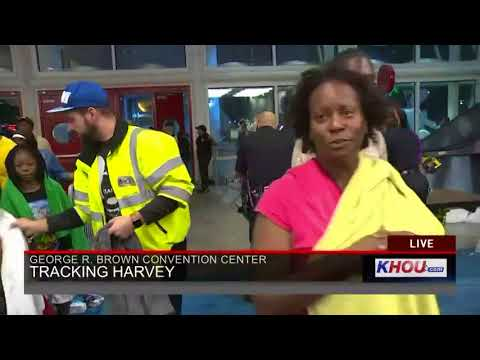 7,000 people sheltering at George R. Brown Convention Center