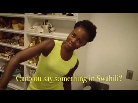 Lupita Nyong'o Speaking In Swahili And Spanish Will Make Your Day